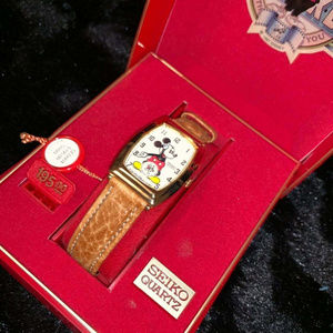 Seiko Mickey Mouse Watch Disney 60th Anniversary